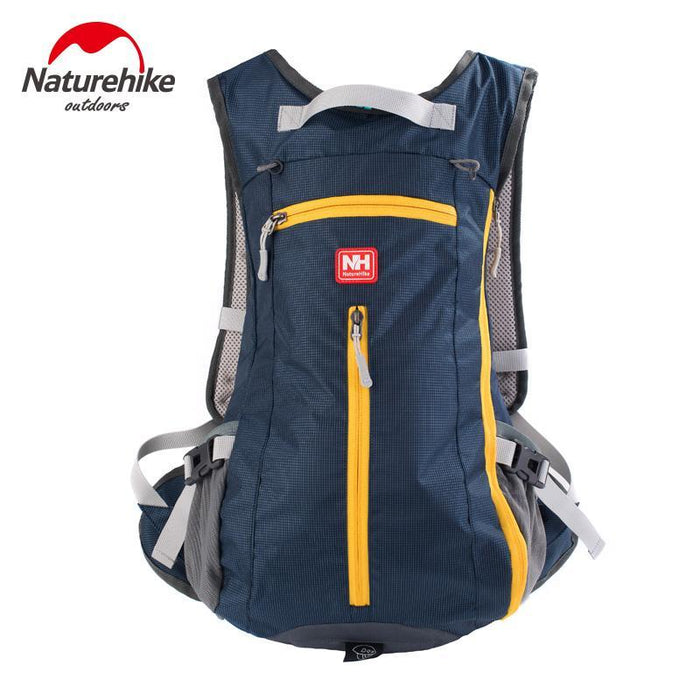 [Naturehike] Waterproof Ultralight Rucksack Bike Camping Climbing Backpack 15L 5-Backpacks-Bargain Bait Box-Navy Blue-Other-Bargain Bait Box