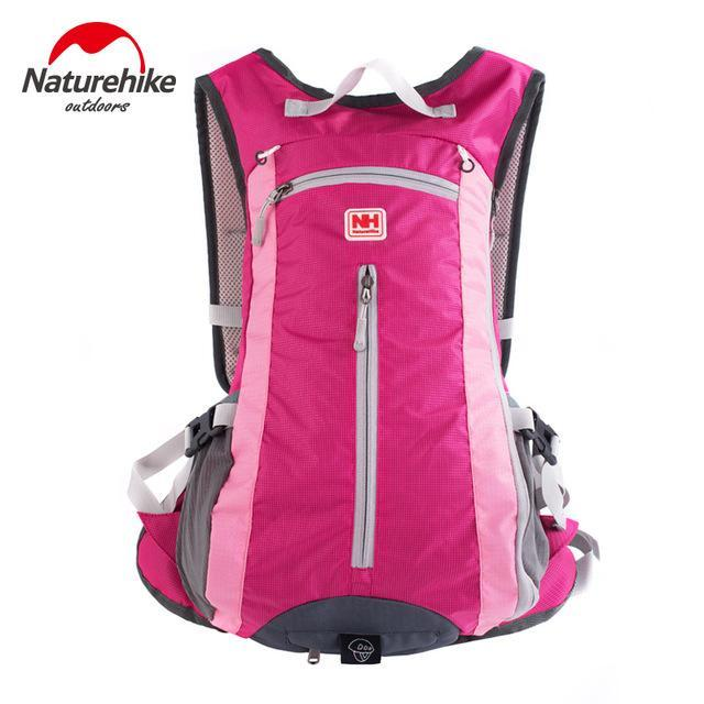 [Naturehike] Waterproof Ultralight Rucksack Bike Camping Climbing Backpack 15L 5-Backpacks-Bargain Bait Box-Rose-Other-Bargain Bait Box