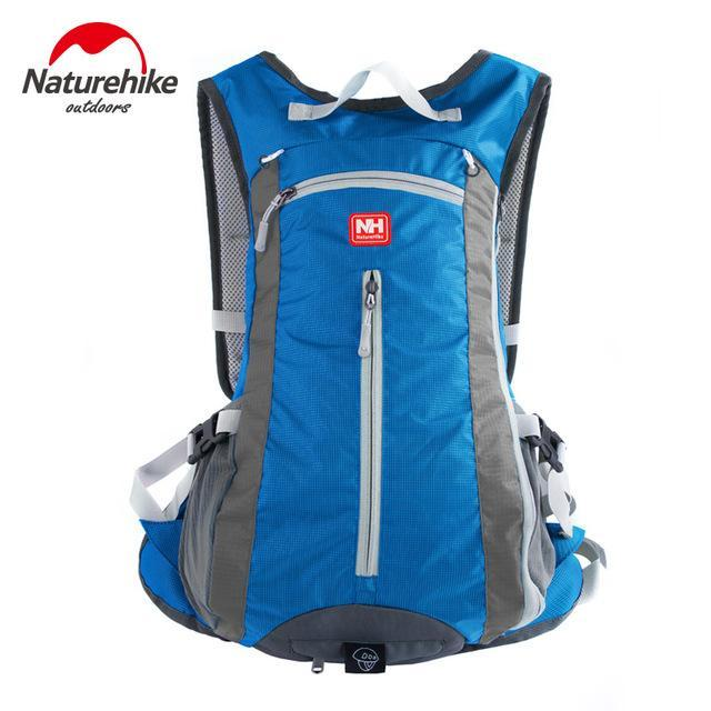 [Naturehike] Waterproof Ultralight Rucksack Bike Camping Climbing Backpack 15L 5-Backpacks-Bargain Bait Box-Sky Blue-Other-Bargain Bait Box
