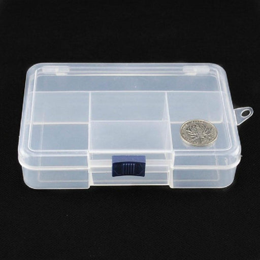 No Peculiar Smell High Strength14.5*10*3.4Cm Plastic Fishing Box Compartments-Compartment Boxes-Bargain Bait Box-Bargain Bait Box