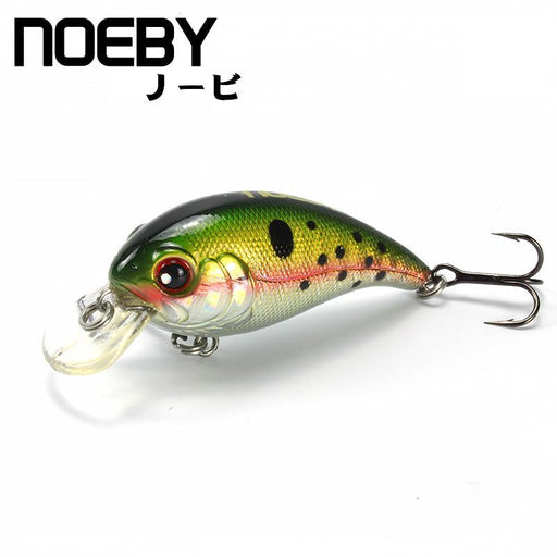 Noeby 1 Pcs Fishing Lure 45Mm/5G 0-0.8M Floating Super Crankbait Lures Fishing-BassBros Fishing Tackle Store-NF001-Bargain Bait Box