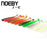 Noeby 5 Pcs/Lot Soft Lure 87.5Mm/5G T-Tail Fishing Lures Soft Worm Swimbait-BassBros Fishing Tackle Store-NW101-Bargain Bait Box