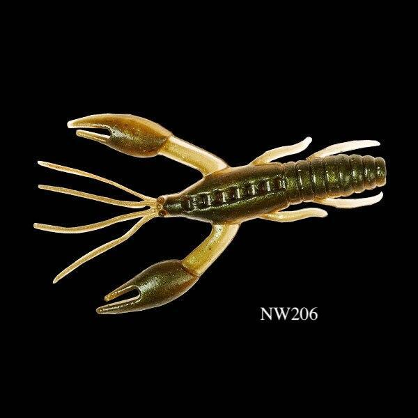 Noeby 6Pcs Crawfish Soft Lure 60Mm 1.6G Worm Lobster Fishing Lure Fish-Fishing Lures-YOUNGTH Fishing Store-NW206-60mm-Bargain Bait Box
