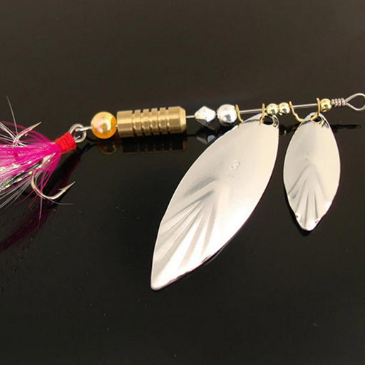 Noise Sequins Spinner Baits Metal Spoons Paillette Spoon Lures Bass Lures-Inline Spinners-Bargain Bait Box-Bargain Bait Box