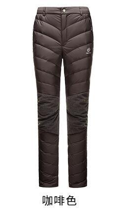 North Snow Thick Thermal Warm Duck Down Pants Ski Pants Women Snowboard Pants-Snow Pants-Bargain Bait Box-women red-L-Bargain Bait Box
