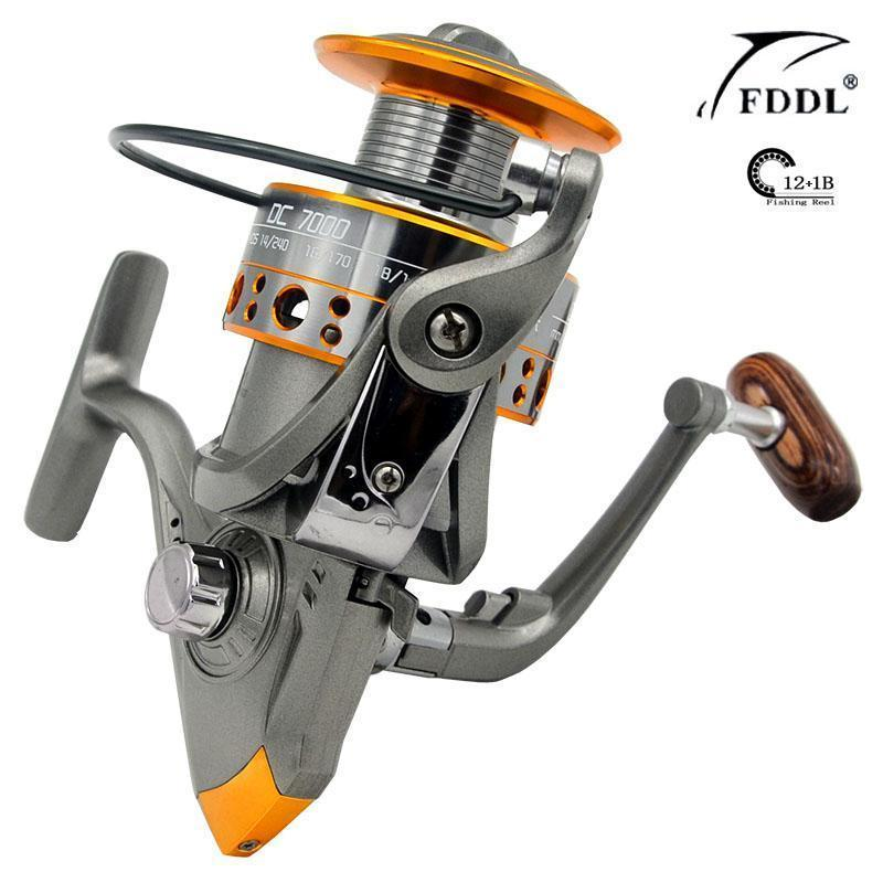 Nouvelle Arrivee Chaude 13Bb Poissons Ratio 5.2:1, Dc7000 Serie Spinning-Spinning Reels-RedMeet Fishing Store-Bargain Bait Box