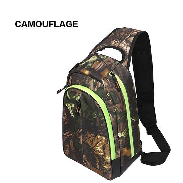 Nunatak E5 Fishing Bag 37*26*14Cm Shoulder Bags Waterproof Lure Bag-Backpacks-Bargain Bait Box-Camouflage-Bargain Bait Box