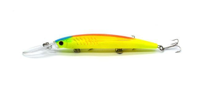 One Piece14.5Cm/12.2G Big Game Fishing Lures Plastic Hard Bait Fishing Tackle-Musky & Pike Baits-Bargain Bait Box-A202-Bargain Bait Box