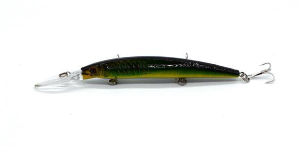 One Piece14.5Cm/12.2G Big Game Fishing Lures Plastic Hard Bait Fishing Tackle-Musky & Pike Baits-Bargain Bait Box-A203-Bargain Bait Box