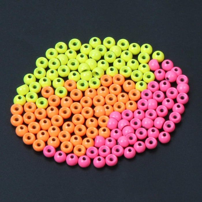 Orange Yellow Pink Bead Tungsten Fly Tying Beads Fly Fishing Nymph Head Ball-AnglerDream Store-2O-Bargain Bait Box
