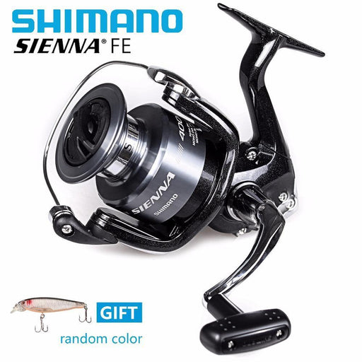 48c4c4f5f9b Original Shimano Sienna Fe 4000 Spinning Reels With Free Lure Fishing  Reels-Spinning Reels-