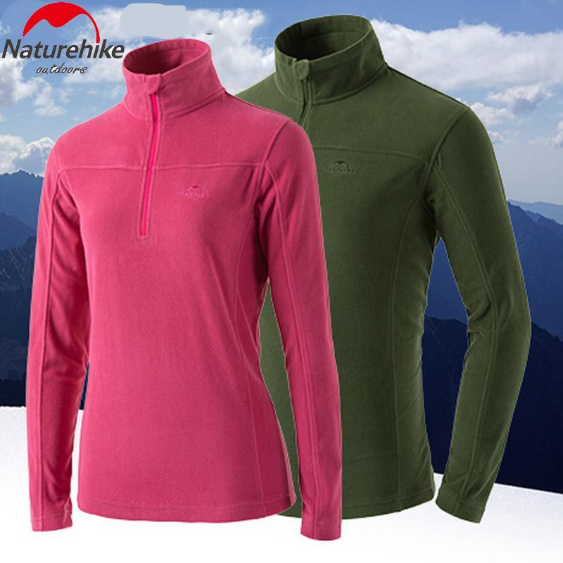 Outdoor Clothing Long Sleeve Fleece Coat Pullover Jacket Women Soft Shell-Ayanway Company Store-blue Women-S-Bargain Bait Box