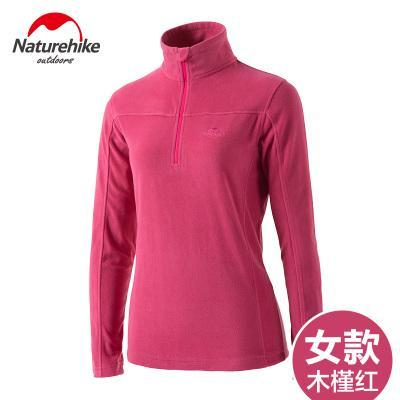 Outdoor Clothing Long Sleeve Fleece Coat Pullover Jacket Women Soft Shell-Ayanway Company Store-pink Women-S-Bargain Bait Box