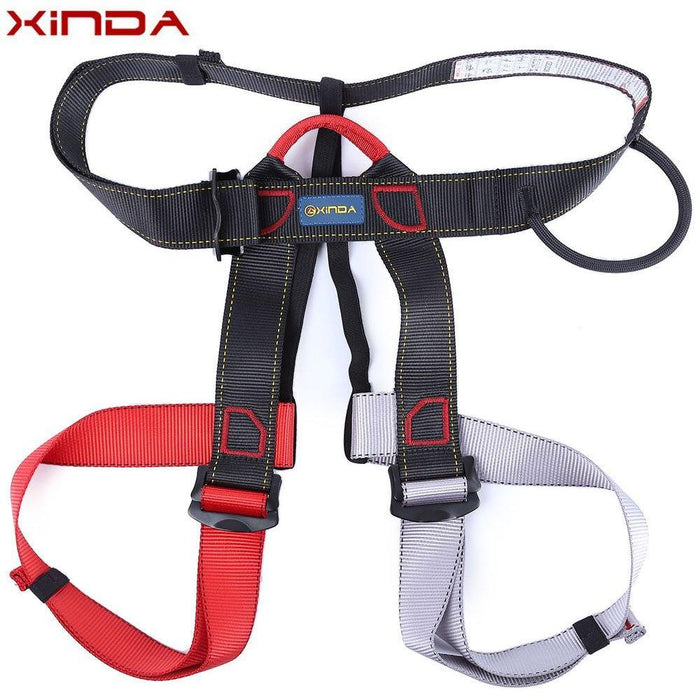 Outdoor Equipment Harness Bust Seat Belt Rock Climbing Harness Rappelling-One Loves One Store-Red-Bargain Bait Box