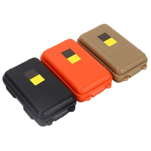 Outdoor Plastic Box Shockproof Pressure Waterproof Airtight Survival Case-THousCamp Store-Bargain Bait Box