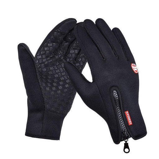 Outdoor Sports Hiking Winter Bicycle Bike Cycling Gloves For Men Women-NatureHike-Fahion Outdoor Leader-Black-S-Bargain Bait Box