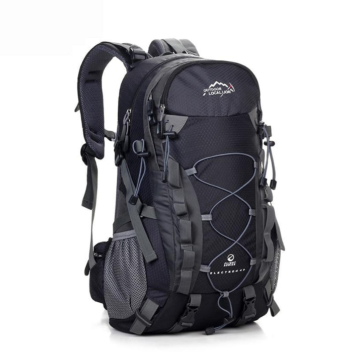 Outdoor Waterproof Hiking Backpack 40L,Ventilated Women Men Camping Travel Bag-Climbing Bags-STOUREG Store-Black-30 - 40L-Bargain Bait Box