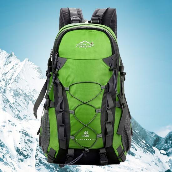 Outdoor Waterproof Hiking Backpack 40L,Ventilated Women Men Camping Travel Bag-Climbing Bags-STOUREG Store-Green-30 - 40L-Bargain Bait Box