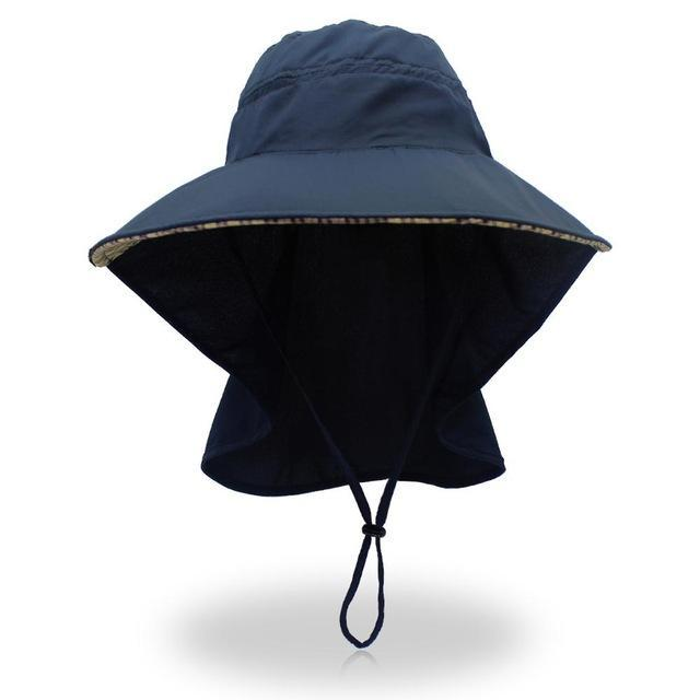 Outfly Bucket Hat Bob Old Skool Hat Mens Panama Fishing Hat Sad Boy Sad Boy-Hats-Bargain Bait Box-Dark blue-Bargain Bait Box
