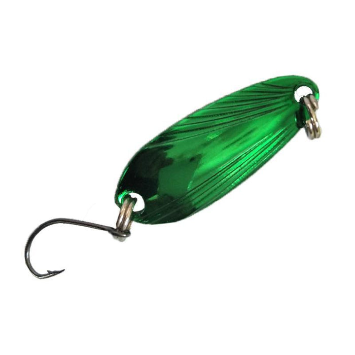Outkit 3.3Cm 3.5G Artificial Spoon Lures Hard Bait Spinner Bait Multicolor-OUTKIT VikingFishing Store-Bargain Bait Box