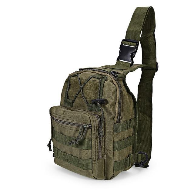 Outlife 9 Color 600D Military Tactical Backpack Shoulder Camping Camo Bag-Backpacks-Bargain Bait Box-Army Green-China-Bargain Bait Box