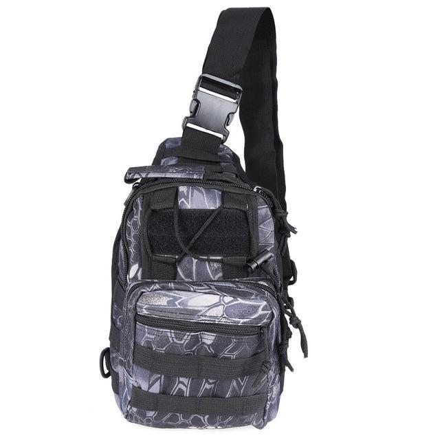 Outlife 9 Color 600D Military Tactical Backpack Shoulder Camping Camo Bag-Backpacks-Bargain Bait Box-Black Python-China-Bargain Bait Box
