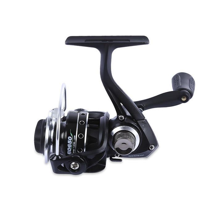 Outlife Bd500 / 650 Fishing Reel Gear Ratio 5.2:1 5 + 1 Ball Bearings Metal-Spinning Reels-Shenzhen Outdoor Fishing Tools Store-BD500-Bargain Bait Box