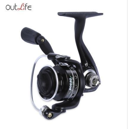 Outlife Bd500 / 650 Fishing Reel Gear Ratio 5.2:1 5 + 1 Ball Bearings Metal-Spinning Reels-Shenzhen Outdoor Fishing Tools Store-BD650-Bargain Bait Box