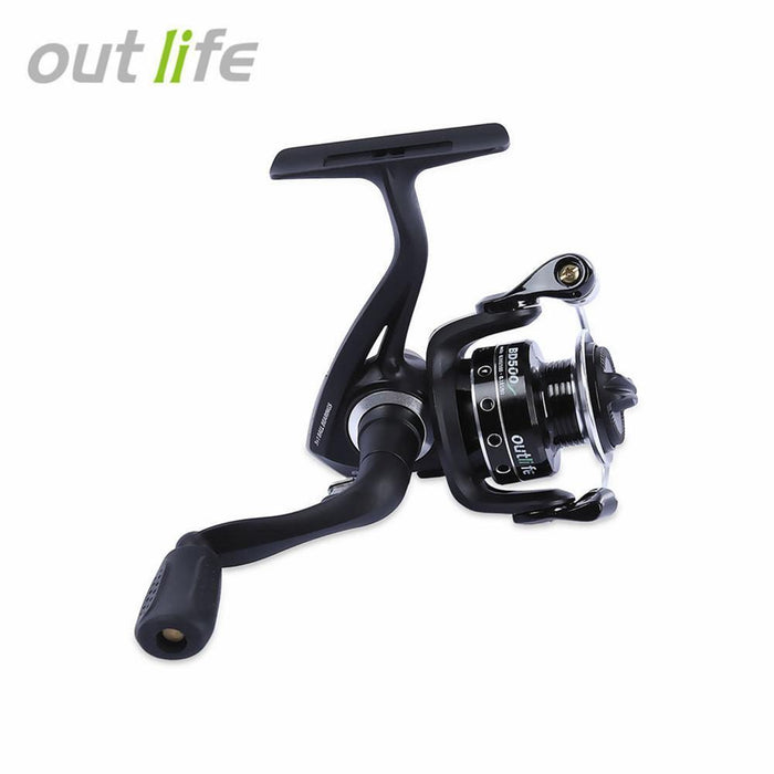 Outlife Bd500 / 650 Gear Ratio 5.2:1 5 + 1 Ball Bearings Metal Spool Spinning-Spinning Reels-outlife Official Store-BD 500-Bargain Bait Box