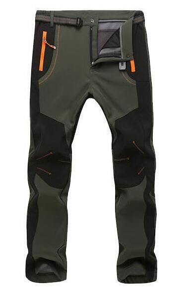 Pantalon Camping Randonnee Homme Waterproof Softshell Trekking Fishing Fleece-Pants-Bargain Bait Box-man 02-4XL-Bargain Bait Box