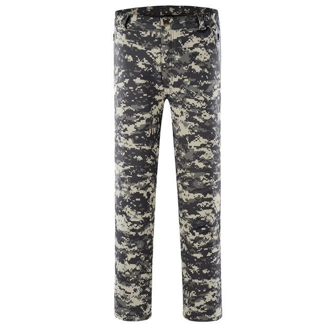 Pants Men Sports Trekking Overalls Trousers Climbing Fishing Waterproof Fleece-Pants-Bargain Bait Box-ACU-S-Bargain Bait Box