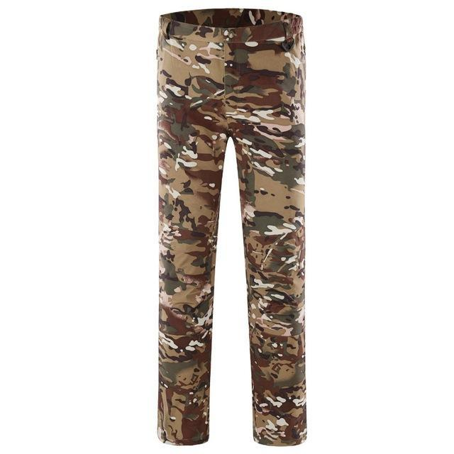 Pants Men Sports Trekking Overalls Trousers Climbing Fishing Waterproof Fleece-Pants-Bargain Bait Box-CP-S-Bargain Bait Box