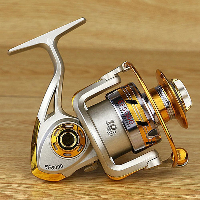 Pesca Reel Metal Spool Spinning Reel10Bb 5.5:1 / 5.2:1 Carp Fishing Wheel Sea-Spinning Reels-HUDA Outdoor Equipment Store-1000 Series-Bargain Bait Box