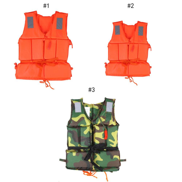 Pfd Child/T Buoyancy Swimming Boating Safety Ski Survival Aid Orange T-Life Jackets-Bargain Bait Box-Adult Orange-Bargain Bait Box