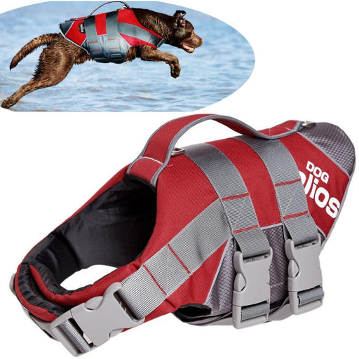 Pfd Doghelios Dog Coats Splash-Explore Outer Performance 3M-Life Jackets-Bargain Bait Box-red-l-Bargain Bait Box