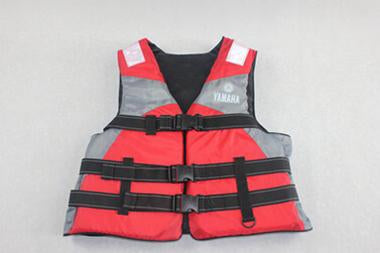 Pfd High Grade Water Entertainment Service Water Safety Products-Life Jackets-Bargain Bait Box-Red logo-Bargain Bait Box