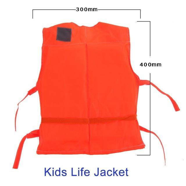 Pfd Kids To T Plus Size Red With Survival Whistle Water Sports Foam For Drifting-Life Jackets-Bargain Bait Box-Kids Size-Bargain Bait Box