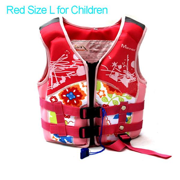 Pfd Manner For Kids Children For Swimming Kayak S Boy & Girl Water Sports Safety-Life Jackets-Bargain Bait Box-Pink L for Children-China-Bargain Bait Box