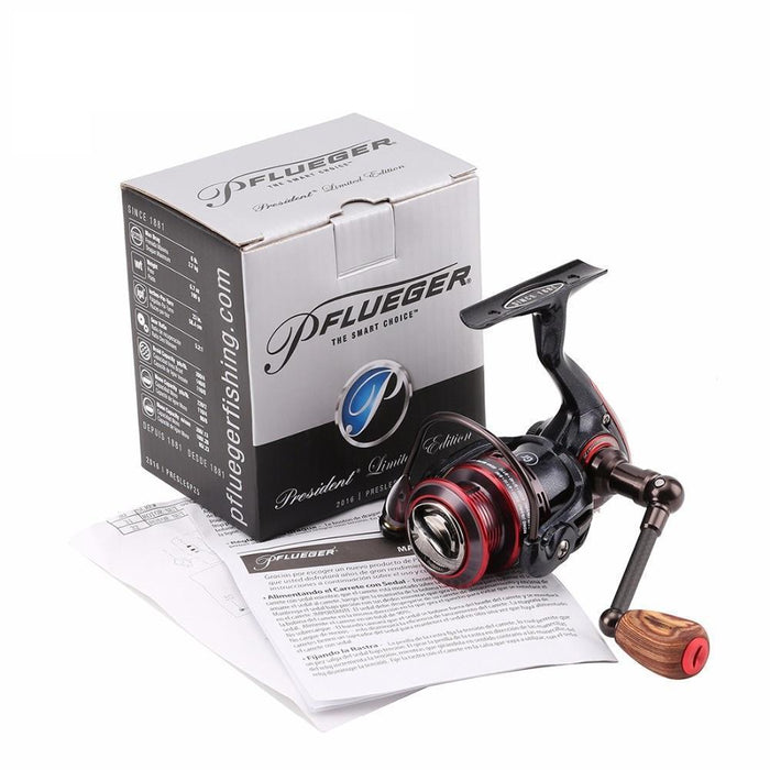 Pflueger Preslesp Spinning Fishing Reel Max Drag 2.7/4.1Kg Graphite-Spinning Reels-NUNATAK Fishing Store-20-Bargain Bait Box