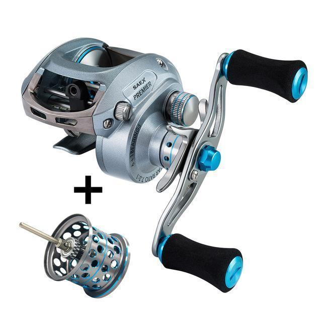 Piscifun Saex Premier Baitcasting Reel Extra Lightweight Spool 7Bb 6.5: 1 179G-Baitcasting Reels-P-iscifun Fishing Tackle Store-Left Hand-Bargain Bait Box