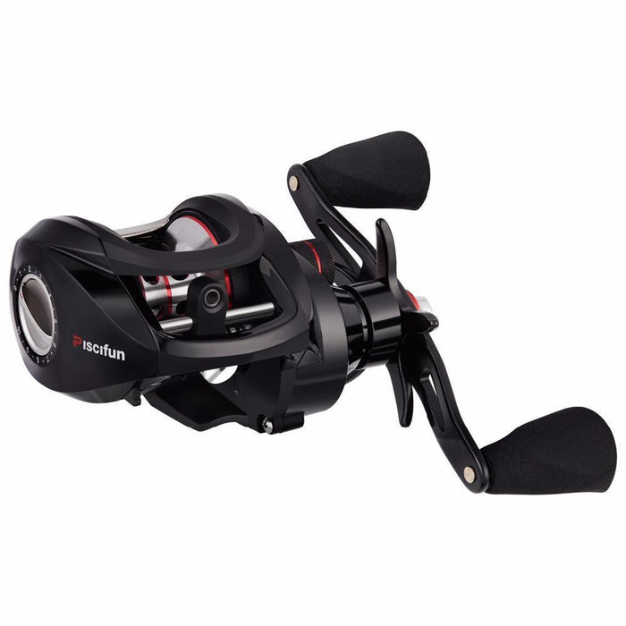 Piscifun Torrent Baitcasting Reel With Cover Bag 8.1Kg Carbon Drag 7.1:1 Gear-Baitcasting Reels-P-iscifun Fishing Tackle Store-Left Hand-Bargain Bait Box
