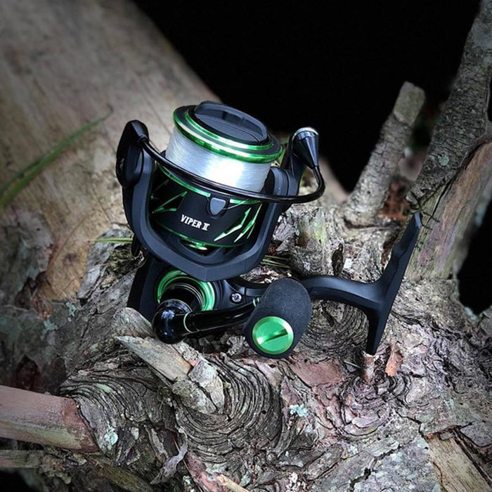 Piscifun Viper Ii Spinning Reel 6.2:1 High Gear Ratio 10+1 Bearings Fishing Reel-Fishing Reels-Piscifun Official Store-11-1000 Series-China-Bargain Bait Box