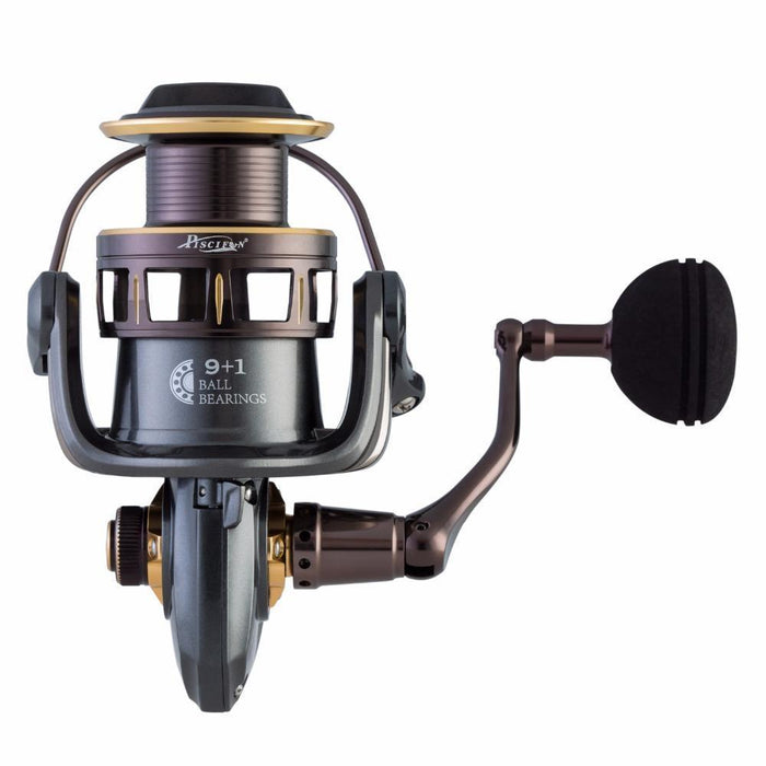 Pisicifun Stone 5.2:1 10Bbs Spinning Fishing Reel Super Powerful 11.3Kg Max Drag-Spinning Reels-P-iscifun Fishing Tackle Store-2000 Series-Bargain Bait Box