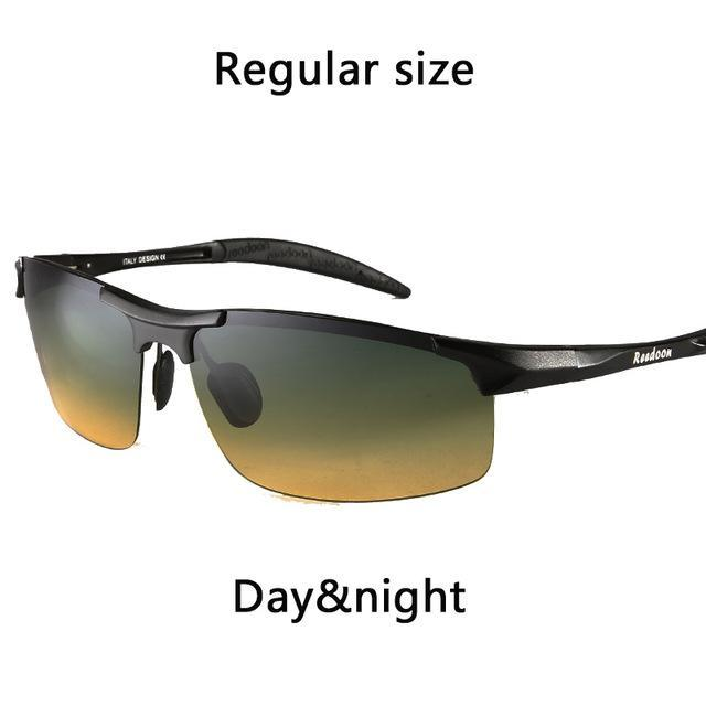 Polarized Men'S Sunglasses Aluminum Magnesium Frame Car Driving Sunglasses Men-Polarized Sunglasses-Bargain Bait Box-And day and night-Bargain Bait Box