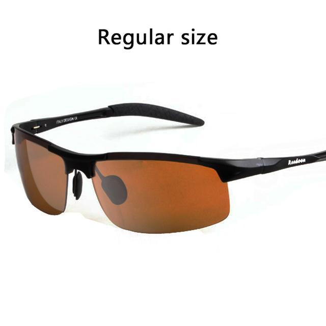 Polarized Men'S Sunglasses Aluminum Magnesium Frame Car Driving Sunglasses Men-Polarized Sunglasses-Bargain Bait Box-Dark yellow-Bargain Bait Box