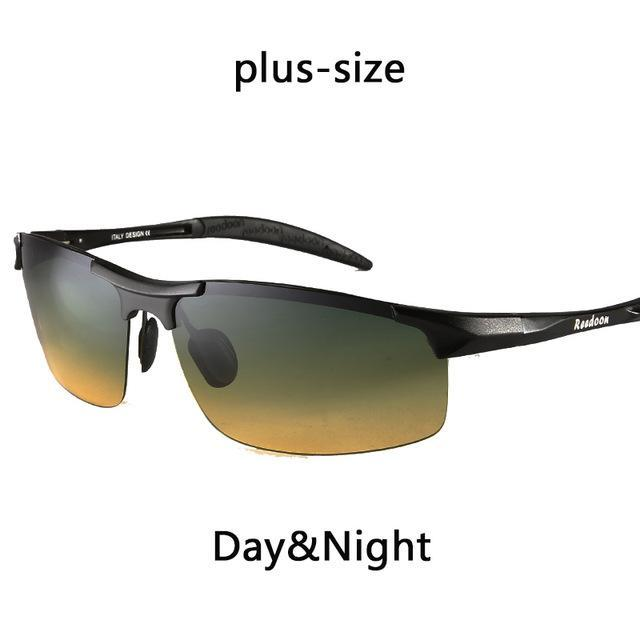 Polarized Men'S Sunglasses Aluminum Magnesium Frame Car Driving Sunglasses Men-Polarized Sunglasses-Bargain Bait Box-Day and night BIG-Bargain Bait Box