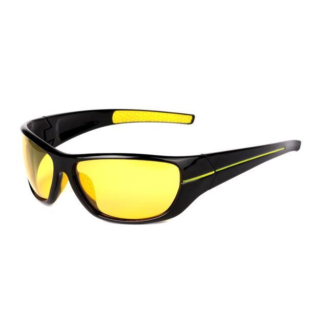 Polarsnow Polarized Night Driving Glasses Men Polaroid Night Vision Eyewear-Polarized Sunglasses-Bargain Bait Box-Yellow-Bargain Bait Box