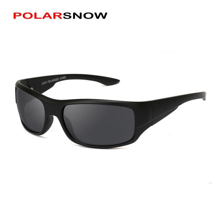 Polarsnow Polarized Sun Glasses Men Top Male Sunglasses Sport Eyewear Design-Polarized Sunglasses-Bargain Bait Box-Bargain Bait Box