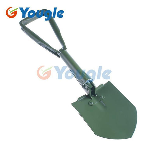 Portable Multi Functional Tri Fold Three Folding Shovel Shovels Spade Pickaxe-Outdoor Tools-YOUGLE store-Bargain Bait Box