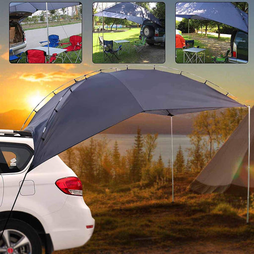 Portable Shelter Truck Car Tent Trailer Awning Rooftop Campers Outdoor Canopy-Tents-Cycling & Fishing Store-Bargain Bait Box